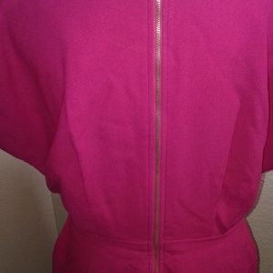 French Connection Dresses - NWOT French Connection Hot Pink Dress SZ 10